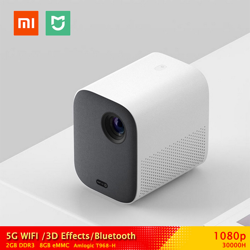 Mijia MJJGTYDS02FM DLP Projector Full HD 1080P 30000 LED Life Wifi bluetooth For Phone Computer Music 3D Movie