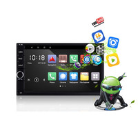 Rectangle RM CT0012 Android Car Multimedia Player 2 Din 7 inch Touch Screen GPS DVD Player Bluetooth Wifi Remote Control