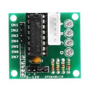 Image 5 - 5 pces 5 v motor deslizante com uln2003 placa de motorista dupont cabo para arduino redução passo motor passo engrenagem motor deslizante 4 fase