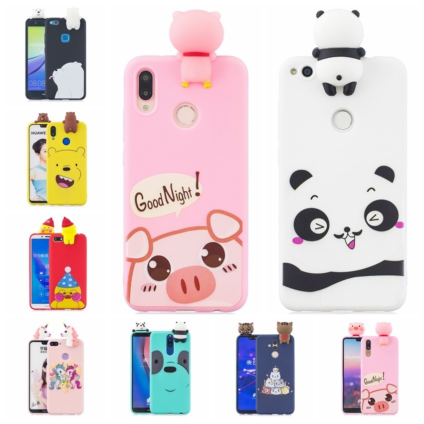 Competent 3d Diy Cartoon Animal Phone Case For Xiaomi Mi A1 A2 5x 6x F1 Redmi Note 4 4x 5a 5plus 6 6a Pro S2 Panda Pig Duck Cat Back Cover