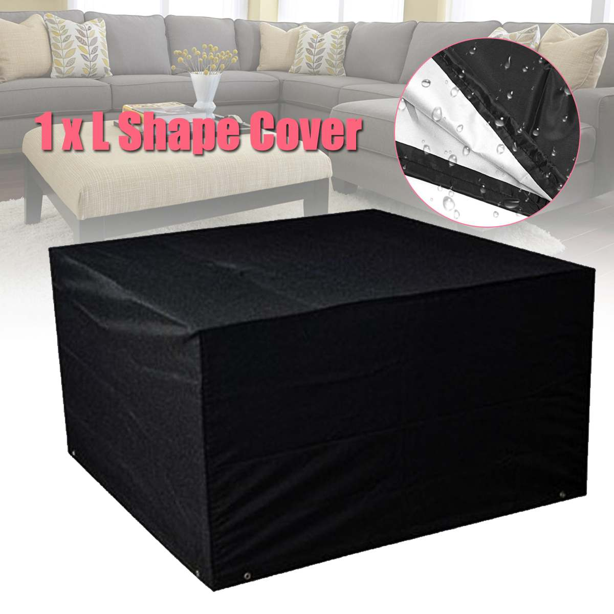 Furniture Dust Cover Fabric: KiWarm 70*140*200cm Waterproof Polyester Dust Rain Cover