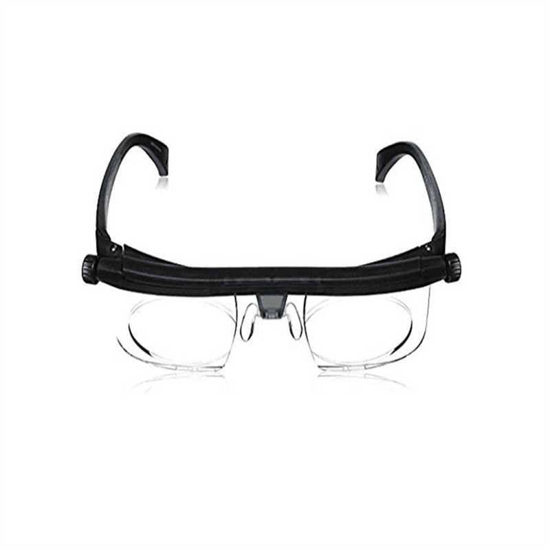 Dial Vision , Adjustable Glasses From 1.6X Magnification To 2.5X Magnification, Wearing Glasses On Sale