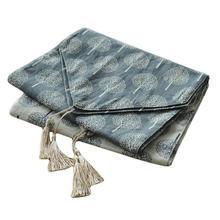 Льняная скатерть с кисточкой Прямоугольный Обеденный Стол Крышка чайная скатерть декоративная