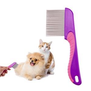 Image 5 - ראש כינים מסיר שיער מסרק נירוסטה ניט ראש שיער כינים מסרק מתכת פיין שיני פשפשים לברוח עם ידית מברשת שיער כלים