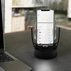 Criativo balanço automático agitador telefone dispositivo wechat movimento passo passometer decoração para casa ornamento