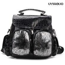 Fashion Women Backpack 2019 Pu Leather Retro Female Bag Schoolbags High Quality Travel Books Shoulder Bags Luis Vuiton mochila