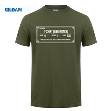 GILDAN Design T Shirts Casual Cool Gildan Crew Neck 100% Cotton Short Sleeve Skyrim Inspired Legendary Mens Tee gildan футболка