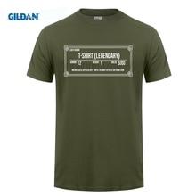 GILDAN Design T Shirts Casual Cool Gildan Crew Neck 100% Cotton Short Sleeve Skyrim Inspired Legendary Mens Tee