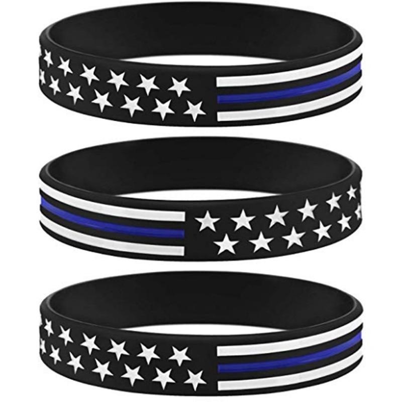 1pcs USA American United States America wristbands Flag