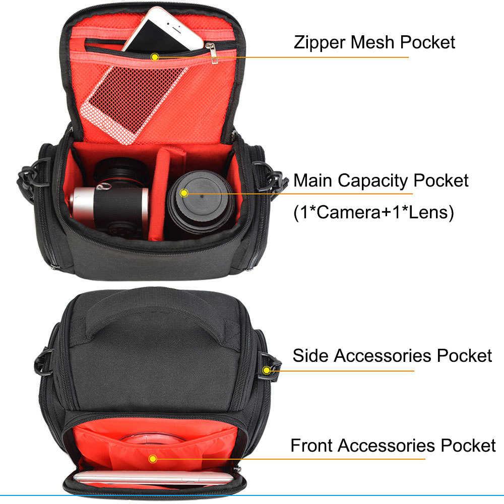 Водонепроницаемая сумка для камеры, рюкзак, сумка через плечо, для улицы, многофункциональная сумка для фото, для Canon, Nikon, sony, DSLR, чехол для цифровой камеры