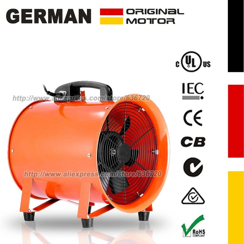 10 Polegada 0.45hp 3300 rpm ventilador utilitário ventilador ventilador portátil de alta velocidade multifuncional extrator de fumaça|Vent.| |  - title=