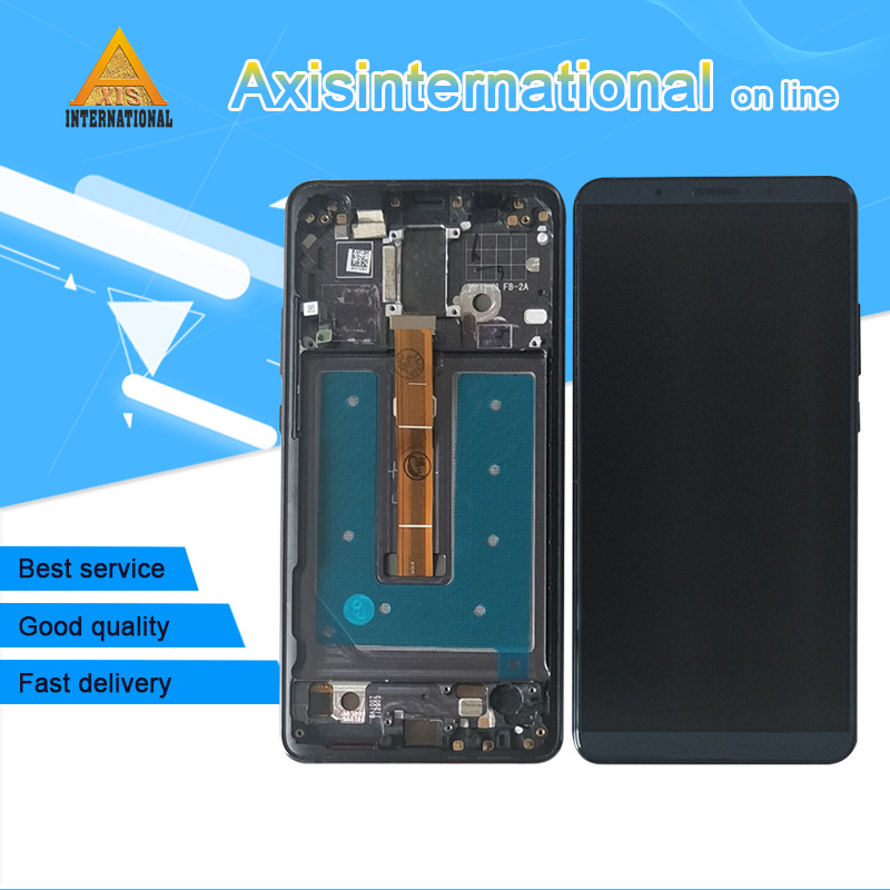 Axisinternational For 6 0 Huawei Mate 10 Pro LCD screen display touch digitizer with frame For