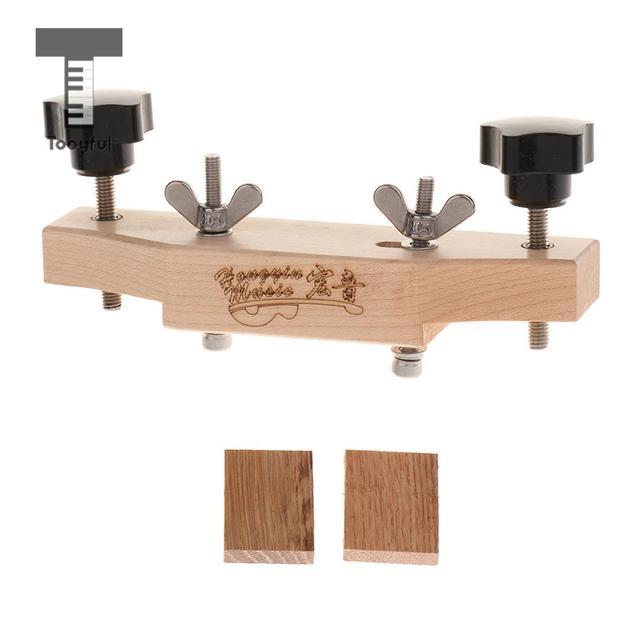 Tooyful دائم خشب متين القيثارات الصوتية جسر مع المشبك الفلين طوقا لتقوم بها بنفسك القيثارات إصلاح صيانة أطقم
