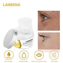 LANBENA Retinol Eye Mask  Anti-puffiness Lifting Firming Reduces Dark Circles Eye Serum Eye Skin CareEye Patch 50pcs