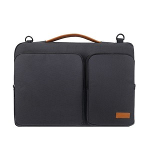 Image 1 - 새로운 핸드백 노트북 슬리브 가방 휴대용 비즈니스 서류 가방 맥북 13.3 15.6 인치 노트북 케이스 방수 고용량 가방