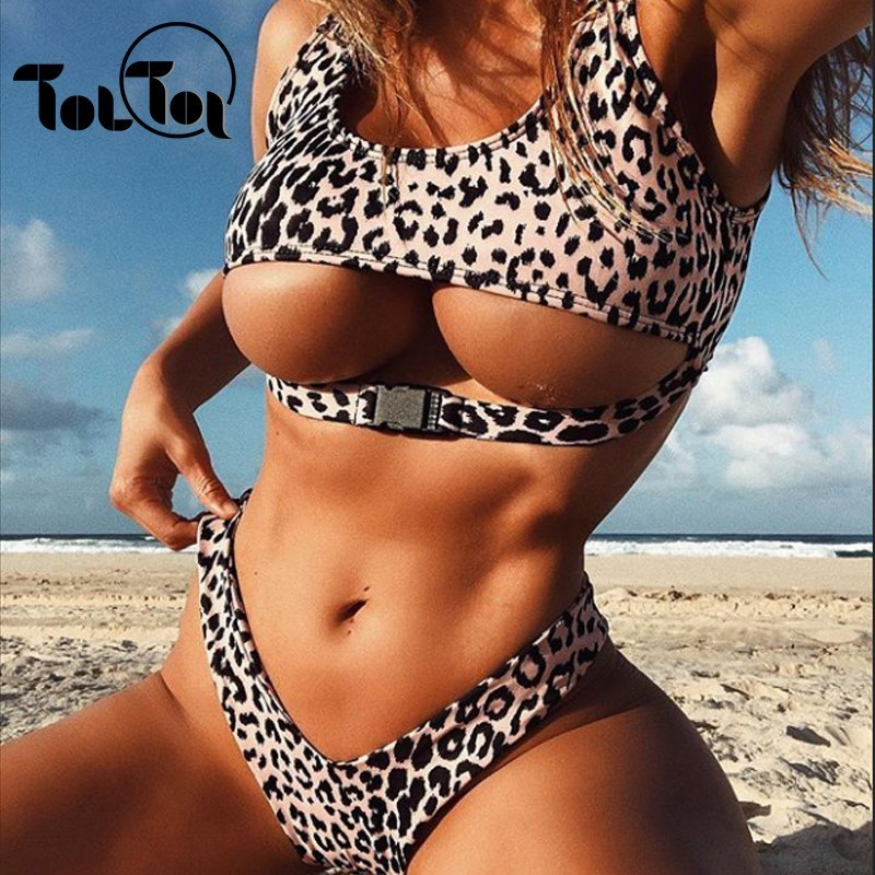 TolTolQ Yellow Romper Bodysuits High Waist Buckles Female Rompers Summer  Two-pieces Set Beach Wear 2fad5f81e4e5