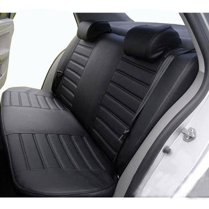 Image 3 - carnong car seat cover leather custom for volkswagen caddy 5 or 7 seater same structure  proper fit original auto seat covers