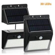 30 LED Solar Lights Outdoor Solar Lamp RIP Motion Sensor Rec
