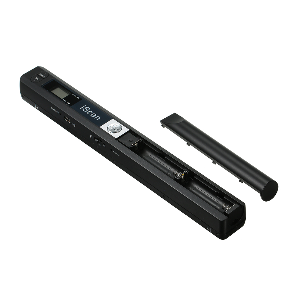 iScan Portable Scanner Mini Handheld Document Scanner A4 Book Scanner JPG and PDF Format 300/600/900 DPI for scanning documents-in Scanners from Computer & Office