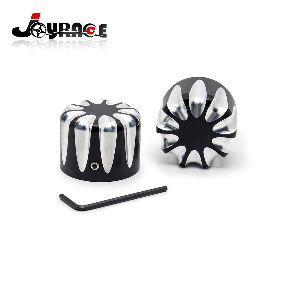 motorcycle accessories parts for harley softail sportster touring axle nut cover(China)