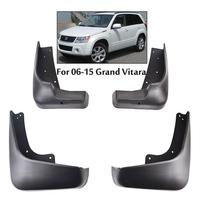 Professional 4 PCS /Set Splash Guard Mud Guards Flaps FOR 2006 2015 SUZUKI GRAND VITARA ESCUDO Car Fender