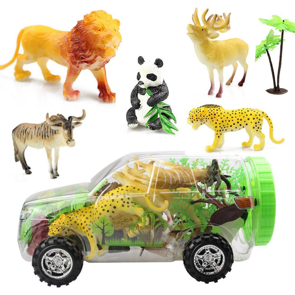 15Pcs/Set Simulate Animals Modeling Educational Toys for Kids Scene Props Decoration