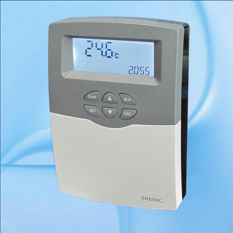 controlador solar do calefator de agua sr609c 1 5kw para o sistema pressurizado compacto com 1500
