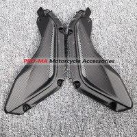 Extratores de ar do painel lateral da motocicleta em fibra carbono para mv agusta f3 675/800 dor fosco|Kits de carenagem completa| |  -