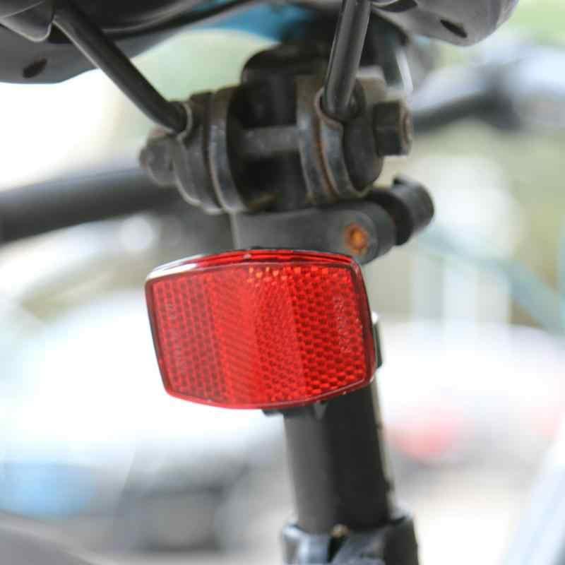 Plsatic светоотражающий для горного велосипеда дорожный велосипед различимые ночью велосипедная перекладина велосипедный передний задний объектив колеса обода отражатели Безопасные наклейки на велосипед