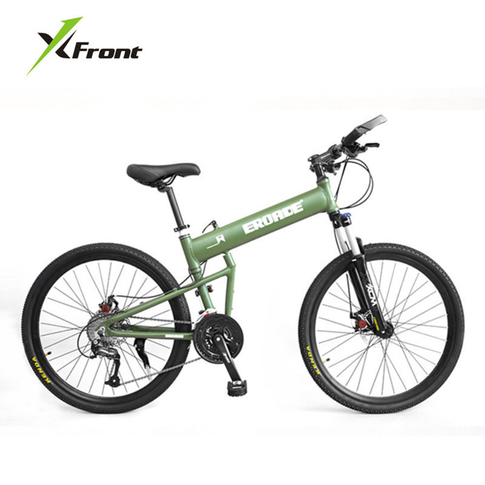 275433f22 New Brand Mountain Bike 24 26 29 Inch Wheel Aluminum Alloy Frame  Quick-release Damping