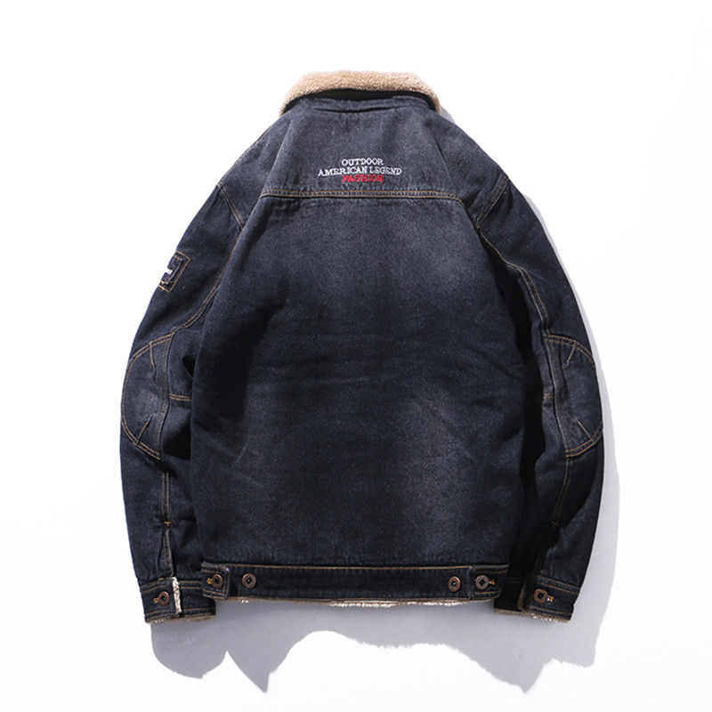 Polaire De Manteau Noir bleu Pardessus Mode Doublé Vêtements Hiver Épais Marque Manteaux Chaud Hommes Laine Mélange Mâle xqwZSwY