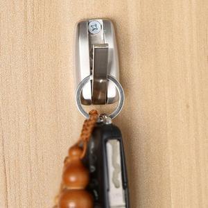 Image 2 - Camper Caravan Motorhome Bathroom Towel Small Hook Coat Hook Key Hook RV Accessories Hidden Alloy Silver