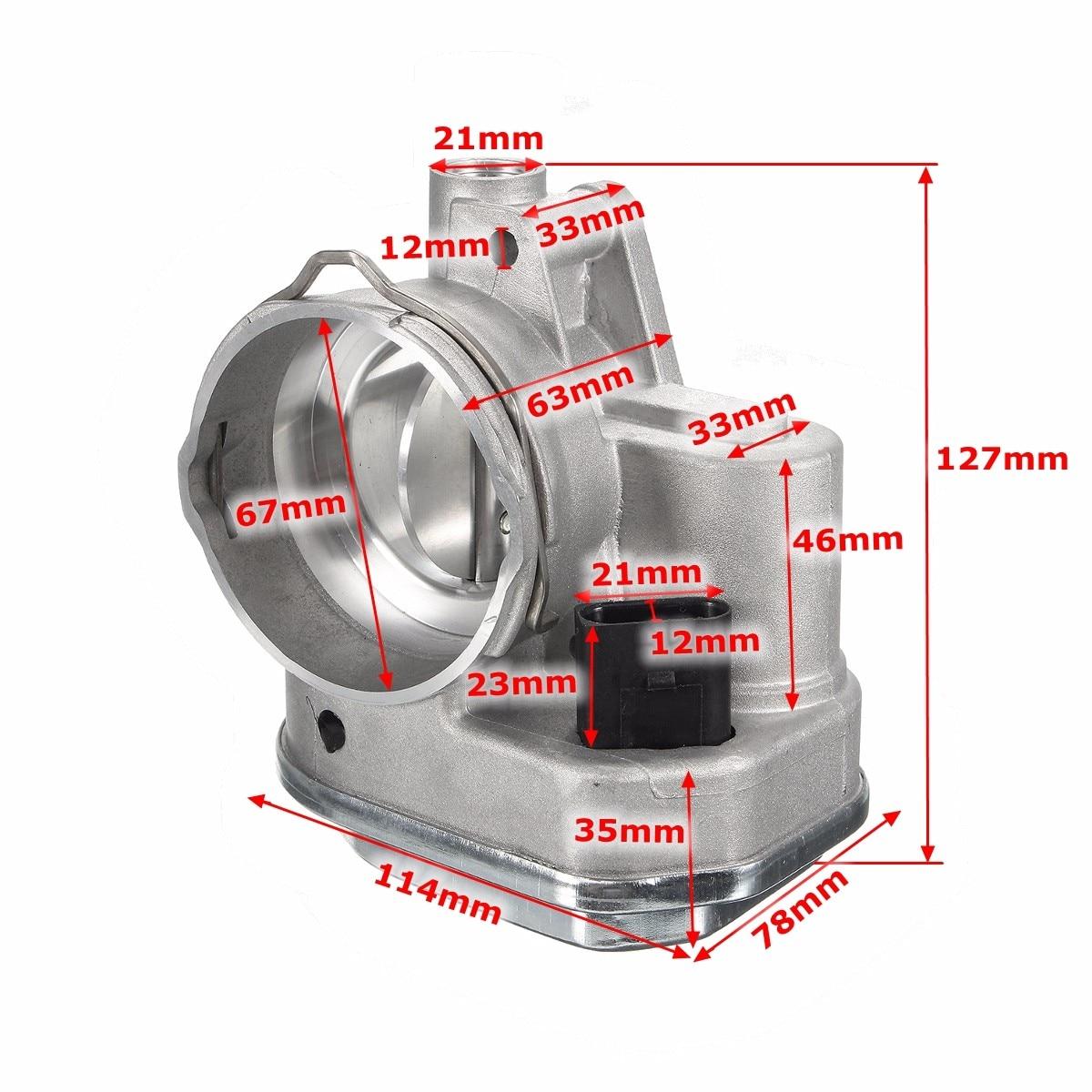038128063F 038128063G tout nouveau corps d'accélérateur pour Audi pour Skoda pour VW Seat 1.9 2.0 TDi rabat collecteur 038128063G/L/F/M/P/Q - 6