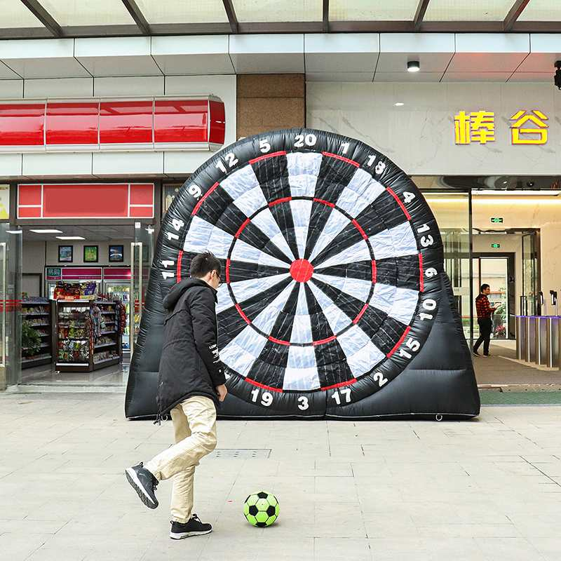 3 Meter Huge High Inflatable Football Dart Board Outdoor Sport Games Soccer Toys Inflatable Dart Board Game With 220V Air Blower3 Meter Huge High Inflatable Football Dart Board Outdoor Sport Games Soccer Toys Inflatable Dart Board Game With 220V Air Blower