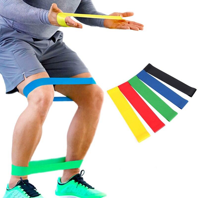 WANAYOU 5 Livelli di 50 centimetri Elastico Sport Elastici A Resistenza di Formazione di Gomma Loop Fasce di Yoga Tirare La Corda Attrezzature Per Il Fitness Expander