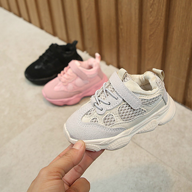 Sneakers Kids Breathable Baby Girls Boys Toddler Shoes Infant Casual Running Shoes Soft Bottom Comfortable Children Sneaker