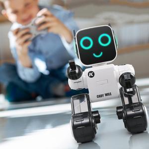 Image 1 - Mignon télécommande Intelligent Robot jouet voix activé enregistrement interactif chanter danse conte RC Robot jouet enfants cadeau