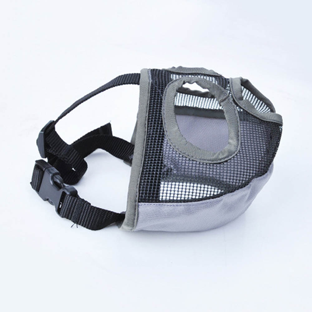 Pet Anti Bite Mask Adjustable Anti Barking Dog Muzzle Bite proof Mouth Cover WXV Sale in Dog Accessories from Home Garden