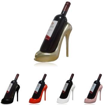 גבוהה עקבים יין מתלה יין מחזיק מדף שרף מעשי פיסול יין Stand עיצוב הבית פנים מלאכות חתונה קישוט