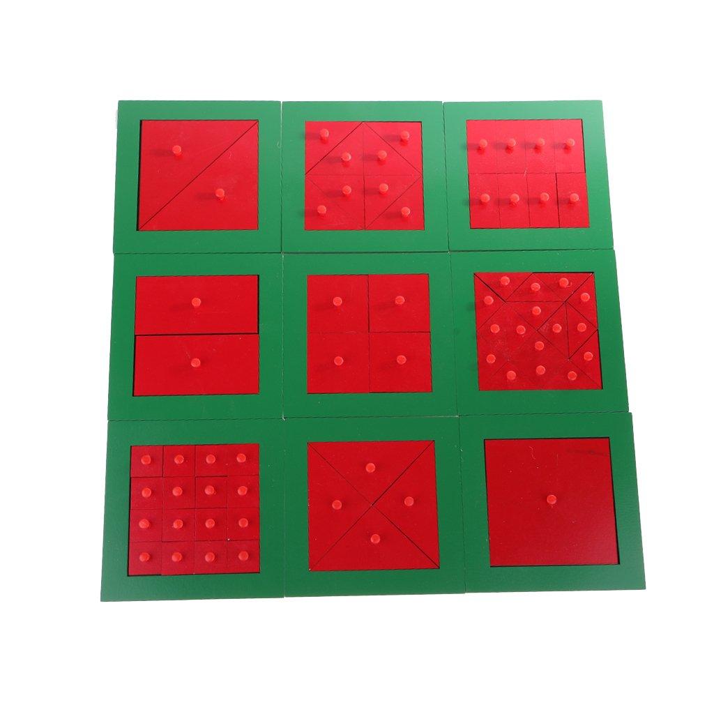 Montessori mathématiques matériel tri correspondant jeu Fraction mathématique apprentissage précoce jouets éducatifs pour enfants enfants
