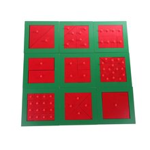 Montessori Mathematics Material Sorting Matching Game Mathematical Fraction Early Learning Educational Toys for Children Kids