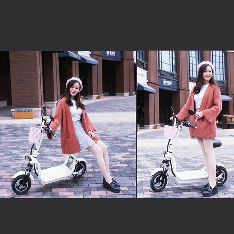 48V new electric car adult bicycle male and female battery small lithium scooter