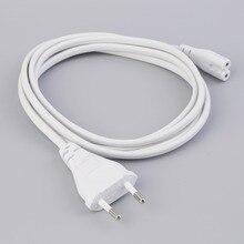 1.5M hot sale 1Pcs Volex EU European 2-Prong Port AC Power Cord Cable For Mac Mini Router for apple TV PS2 PS3 Slim