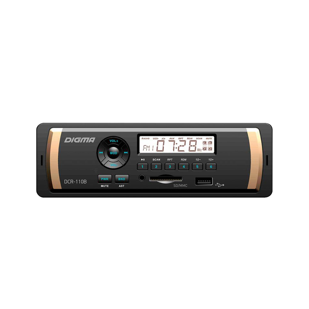 Car Radios Digma DCR-110B Automobiles & Motorcycles Car Electronics Car Radios car radios digma dcr 390g automobiles
