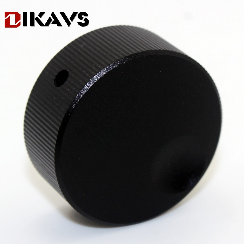 1pcs 32*13mm Audio Multimedia Speakers Aluminum Knobs  Volume Adjustment Knobs  - Black