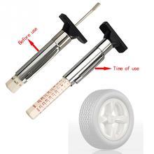 Универсальный автомобильный измеритель глубины для шин тестер цветная шина протектор метрический Gage двигатели инструмент измерения