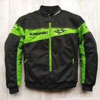 NEW 2018 Moto gp Motorcycle Racing Jacket Winter automobile race clothing clothes for KAWASAKI