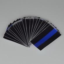 1 предмет US тонкая Голубая линия флаговый отличительный знак Стикеры