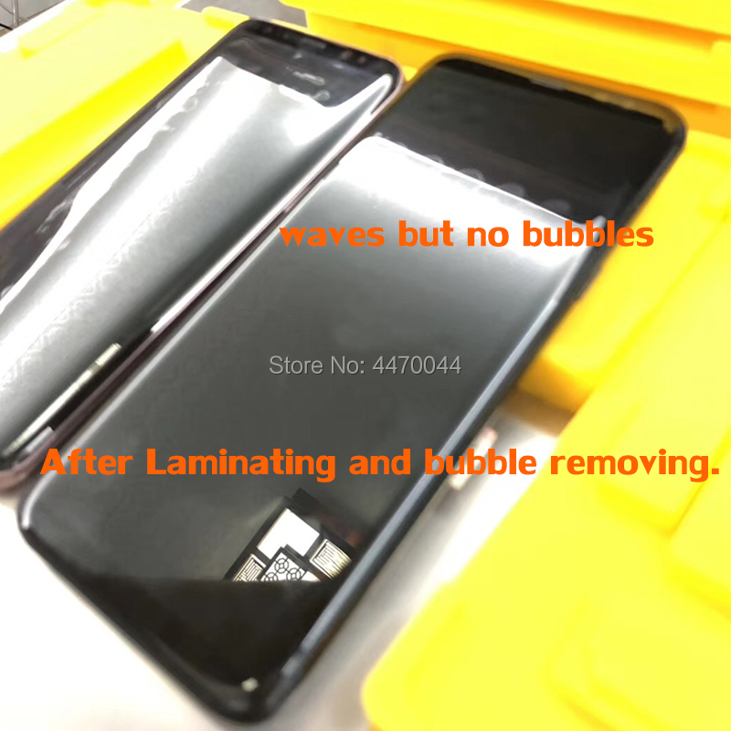 1Set In frame laminating mold For Samsung Galaxy S9 S8 Plus Note 8 9 S7 Edge LCD Display Lamination inframe fit YMJ Laminator in Mobile Phone LCD Screens from Cellphones Telecommunications