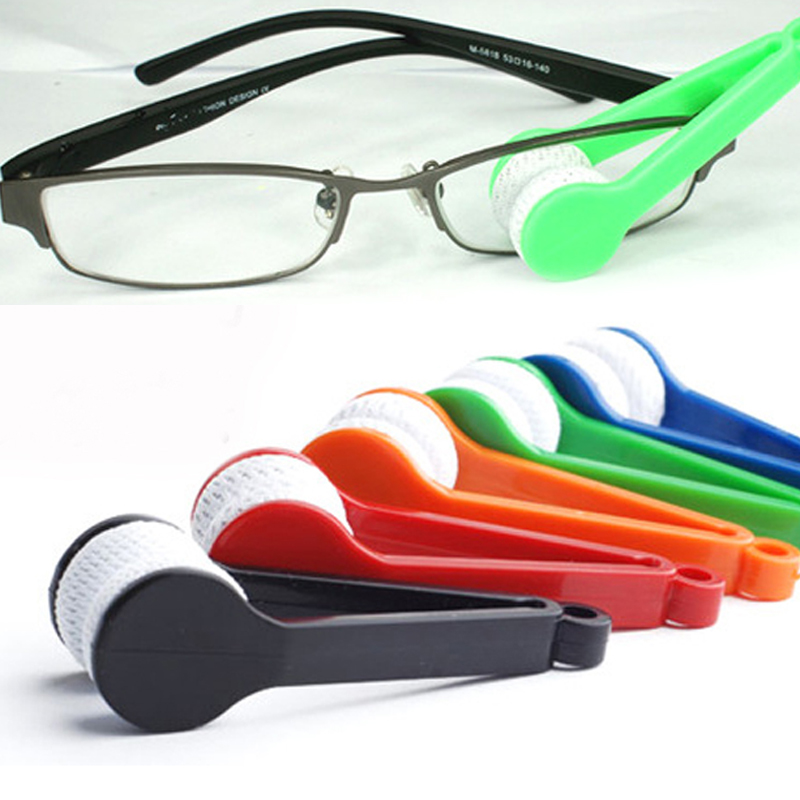 5pcs/lot Mini Microfibre Glasses Cleaner Microfibre Spectacles Sunglasses Eyeglass Cleaner Clean Wipe Tools Wholesale #1030